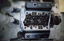 Chev V6 engine after rebuild